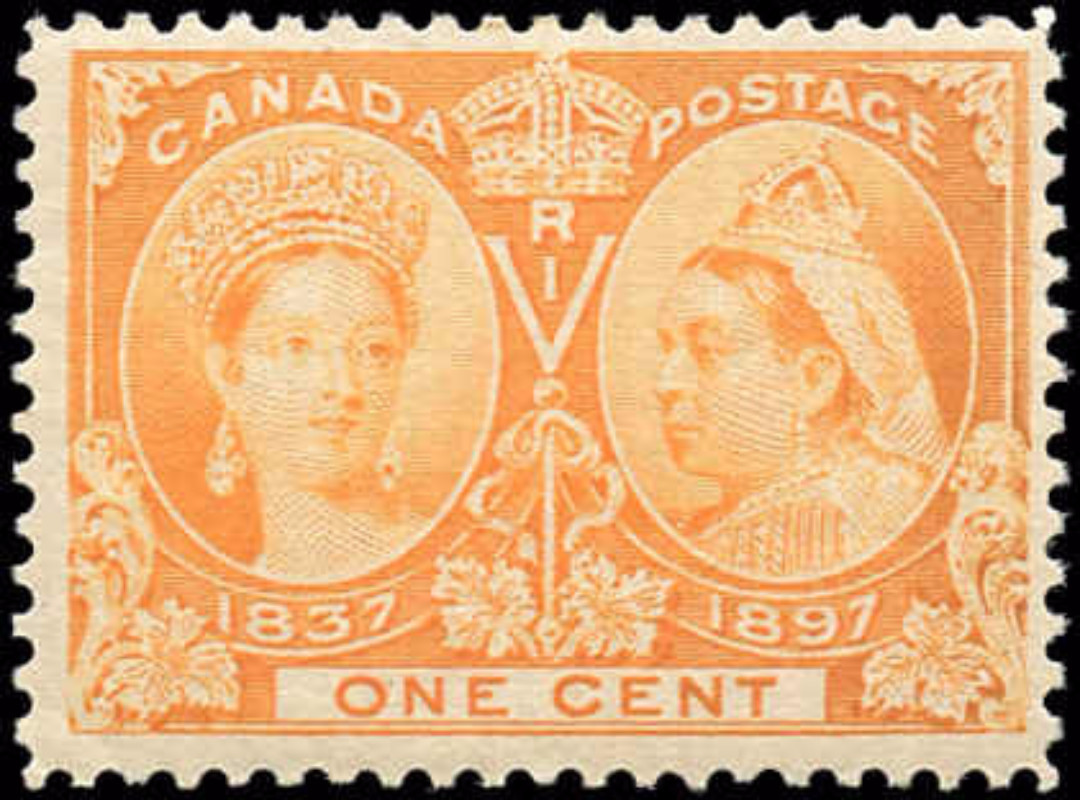 Canada ##51, Jubilee Issue, F, MNH