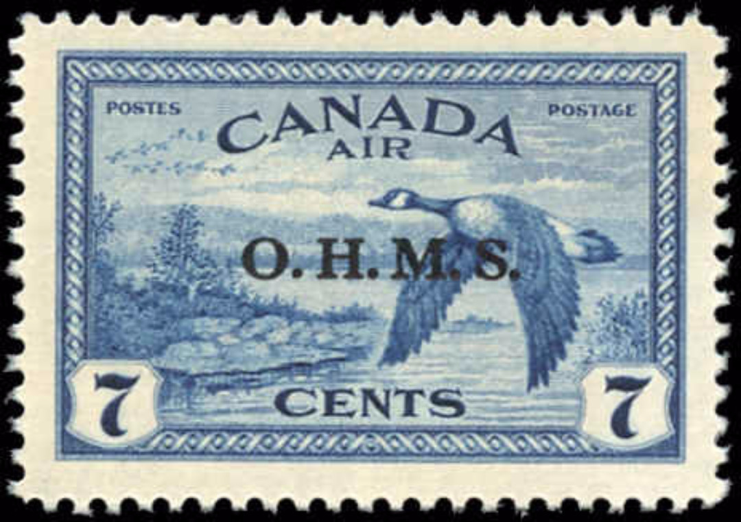Canada #CO1, VF/XF, MNH