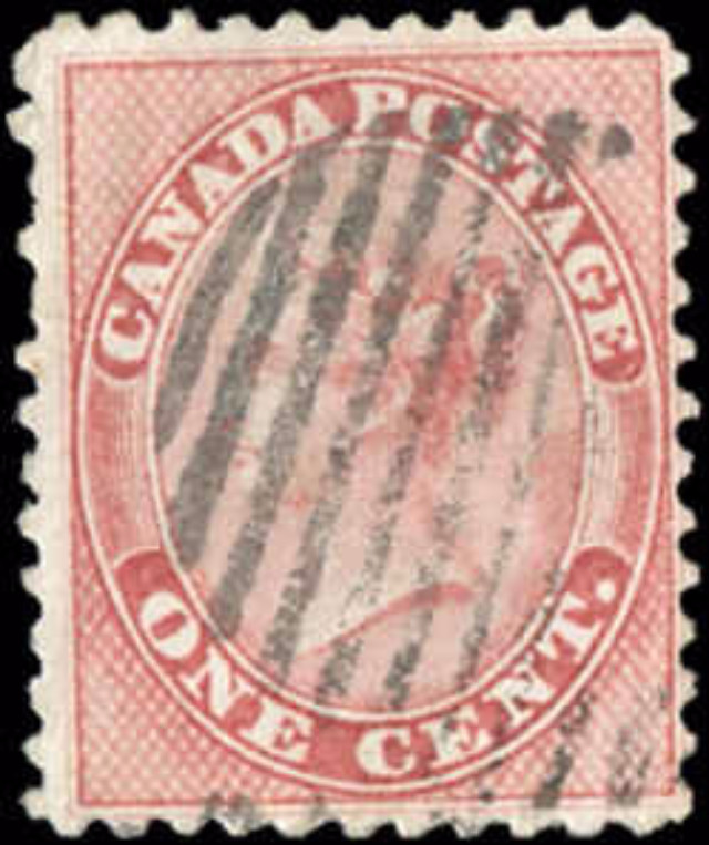 Canada ##14b, First Cents Issue, F, Used