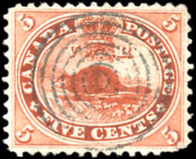 Canada ##15ii, First Cents Issue, VF, Used