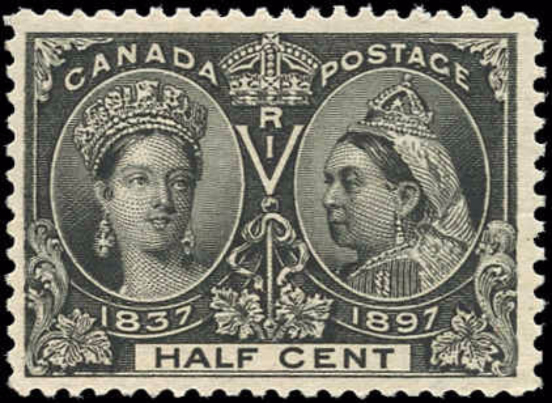 Canada ##50, Jubilee Issue, F-VF, MNH