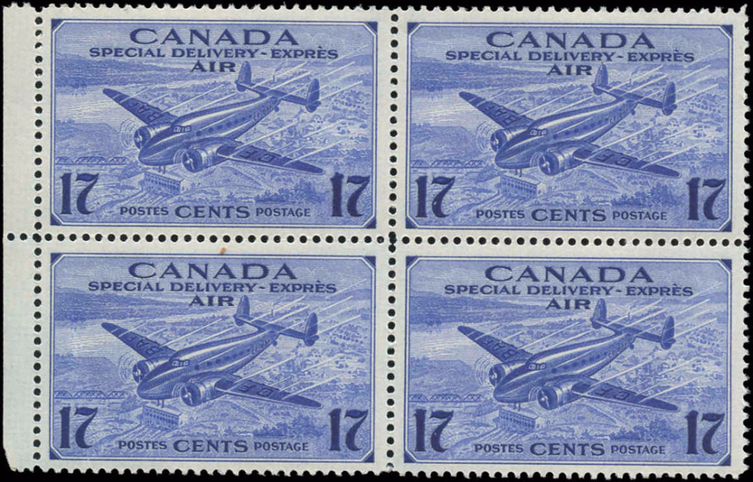 Canada #CE2, Air Mail Special D Issue, F-VF, MNH