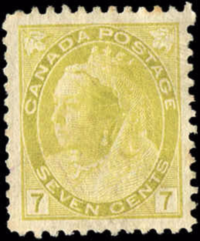 Canada ##81, Numeral Issue, F-VF, Used