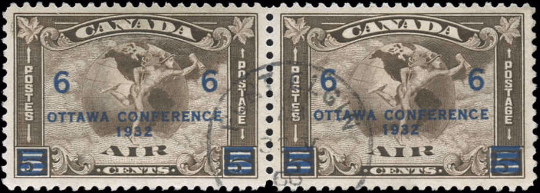 Canada #C4, Airmail Issue, VF, Used