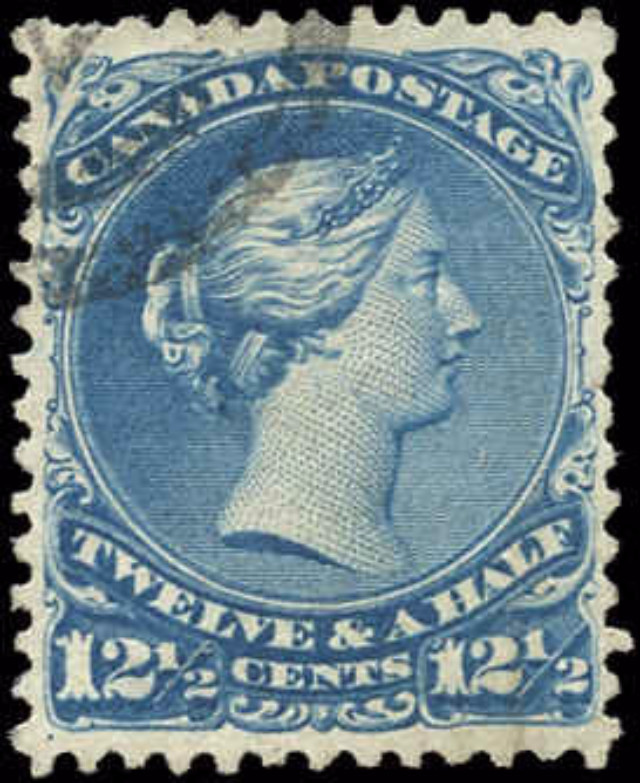 Canada ##28, Large Queen Issue, VF, Used