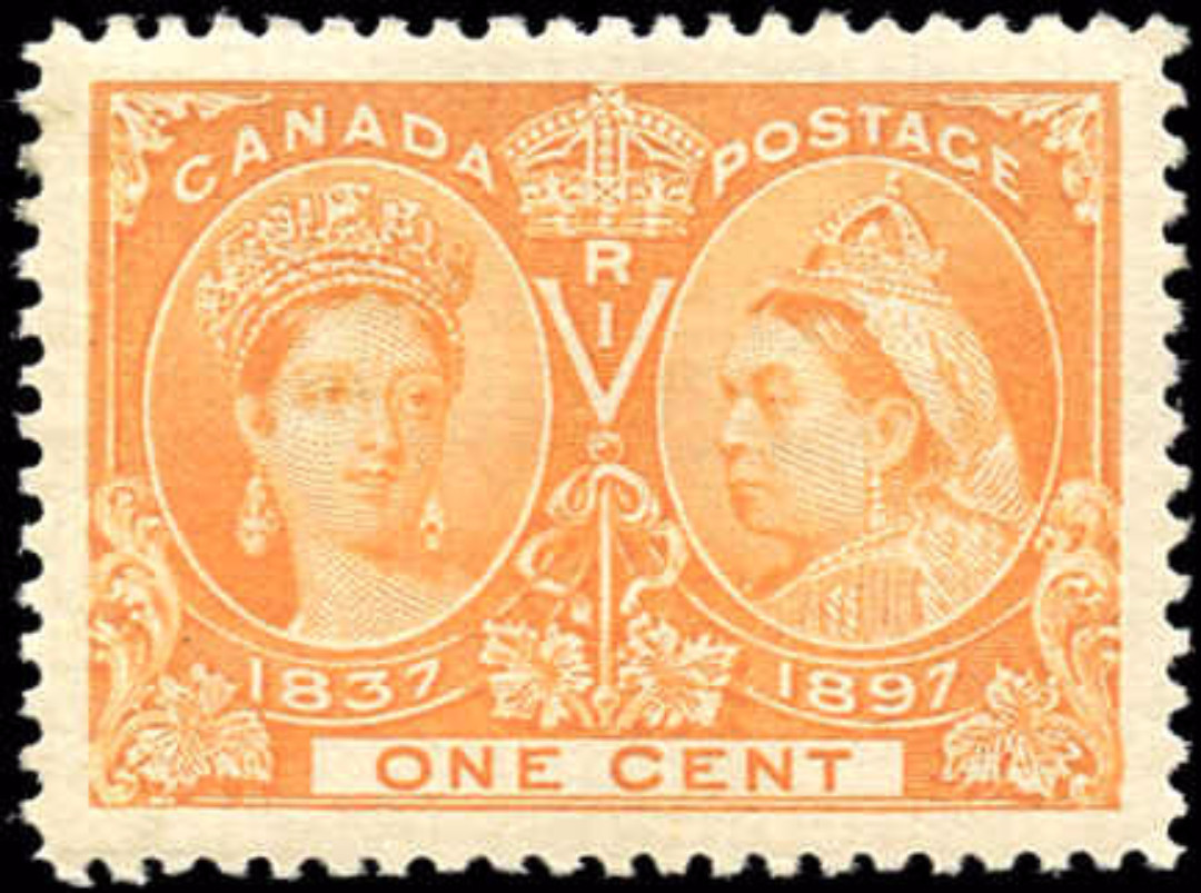 Canada ##51, Jubilee Issue, VF, MH