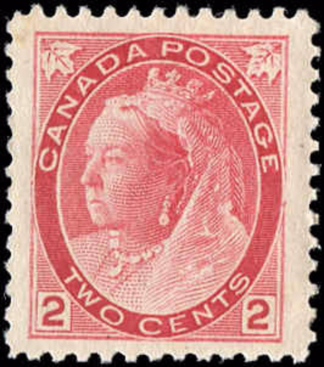 Canada ##77, Numeral Issue, F-VF, MH