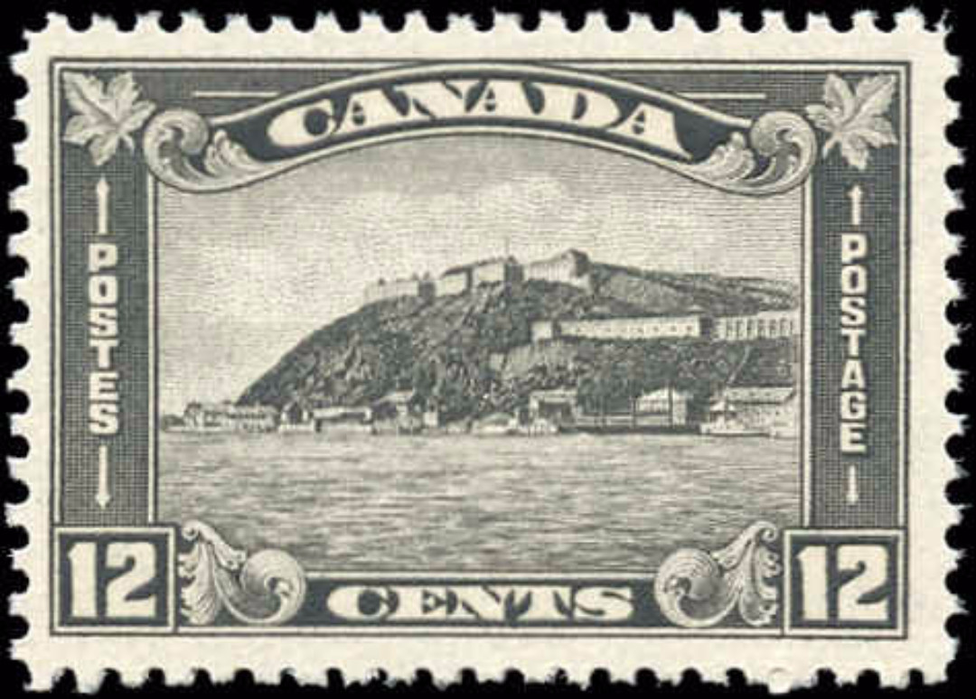 Canada #174, Arch Leaf Issue, F-VF, MNH