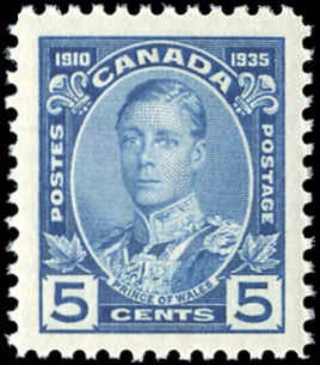 Canada #214, Silver Jubilee Issue, VF, MNH