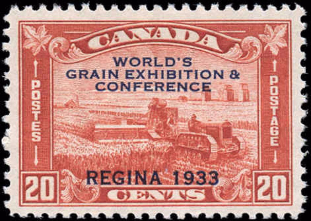 Canada #203, Grain Issue, VF, MH