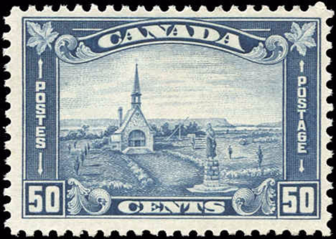 Canada #176, Arch/Leaf Issue, F, MH
