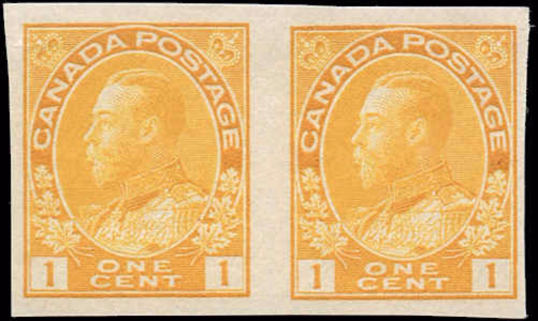 Canada #136, Admiral Issue, F, MH