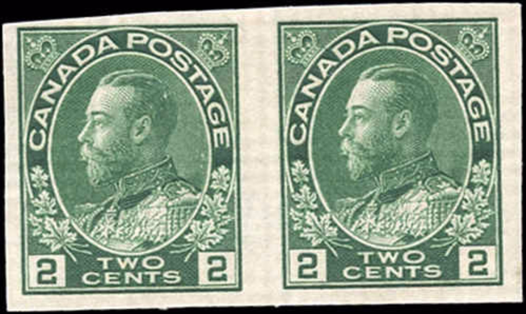 Canada #137, Admiral Issue, F, MH