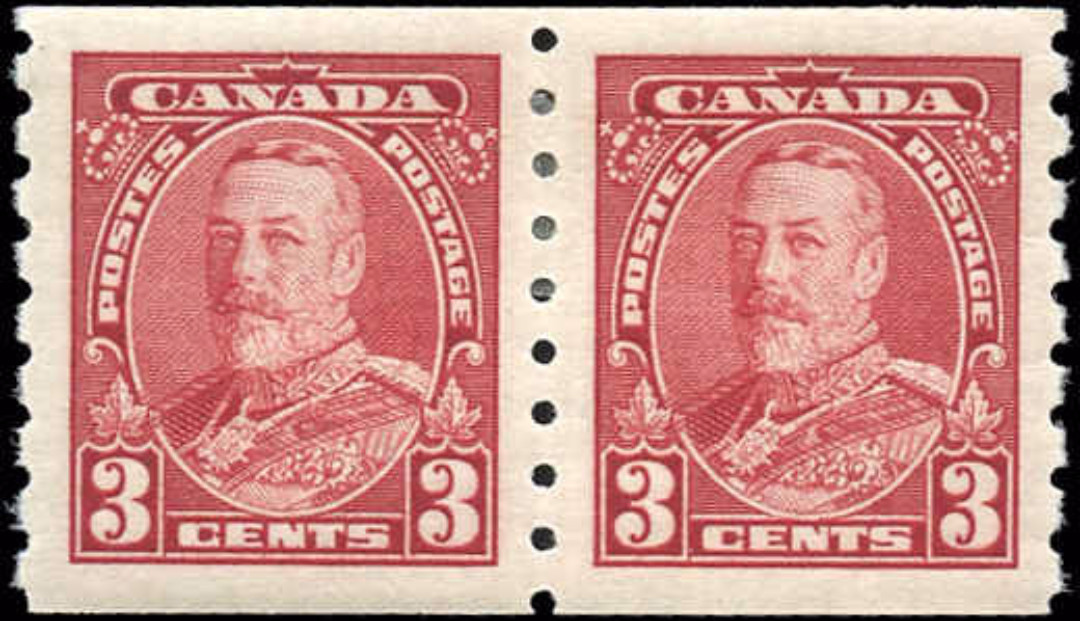 Canada #230, Coil Pictorial Issue, VF, MH