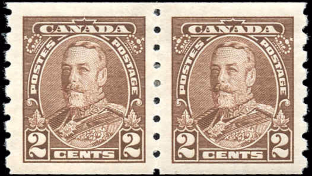 Canada #229, Coil Pictorial Issue, VF, MH
