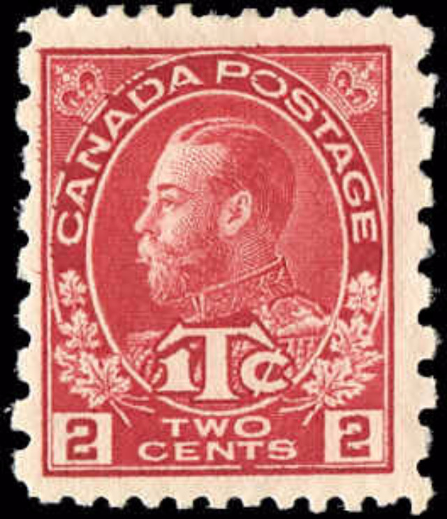 Canada #MR5, War Tax Issue, F, MH