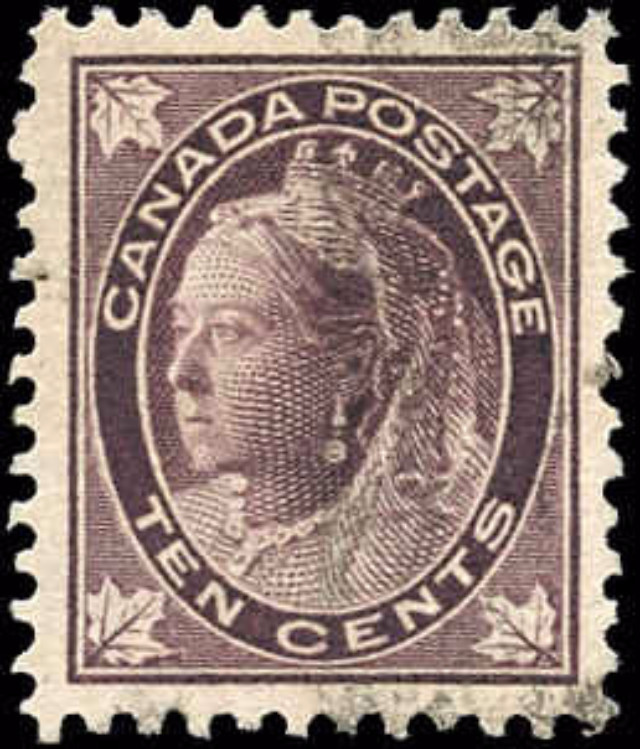 Canada ##73, Maple Leaf Issue, VF, Used