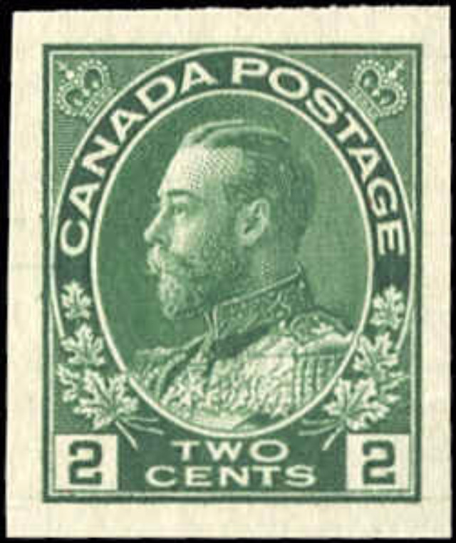 Canada #137, Admiral Issue, VF, MNH