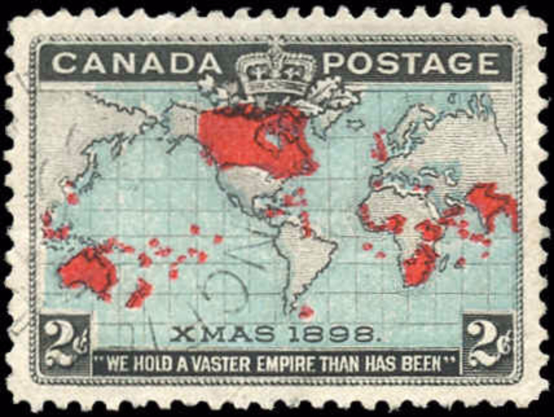 Canada ##86, Map Issue, VF, Used
