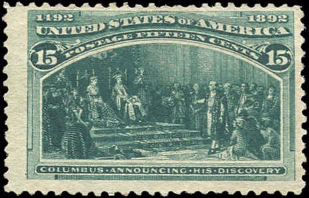 USA, #238, F, Mint-no gum