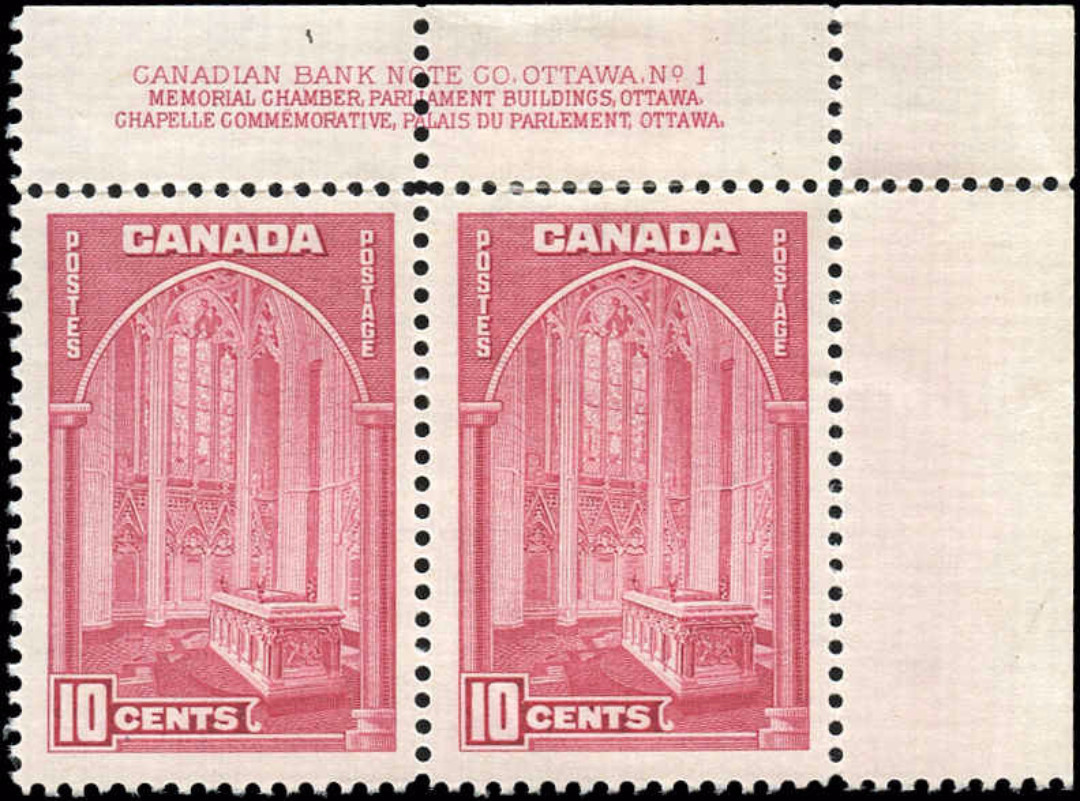 Canada #241, 1938 Pictorial Issue, F-VF, M