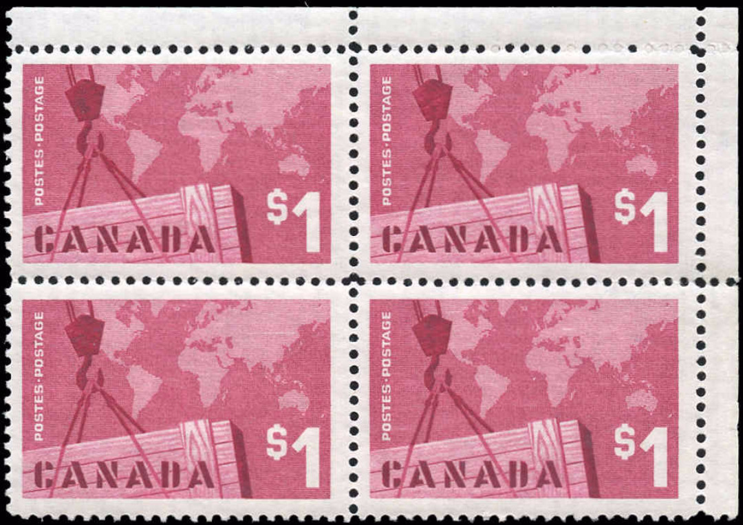 Canada #411, Cdn Exports Issue, VF, M