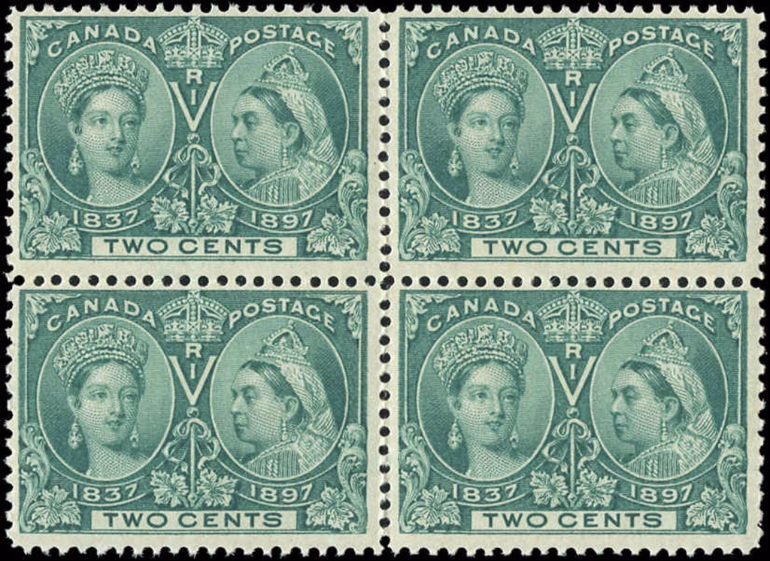 Canada ##52, Jubilee Issue, F, MNH
