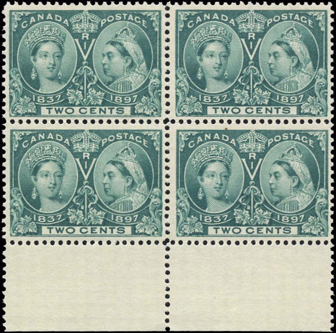 Canada ##52i, Jubilee Issue, F+, MNH