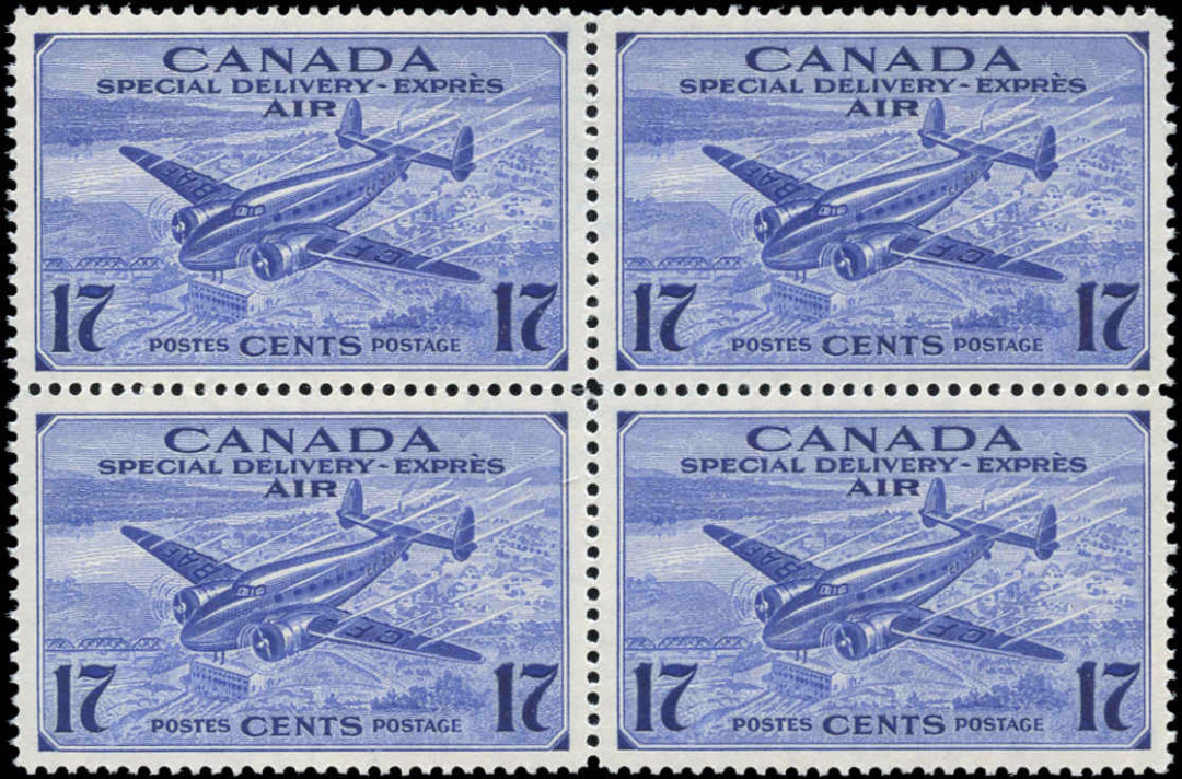 Canada #CE2, Air Mail Special D Issue, VF, MNH