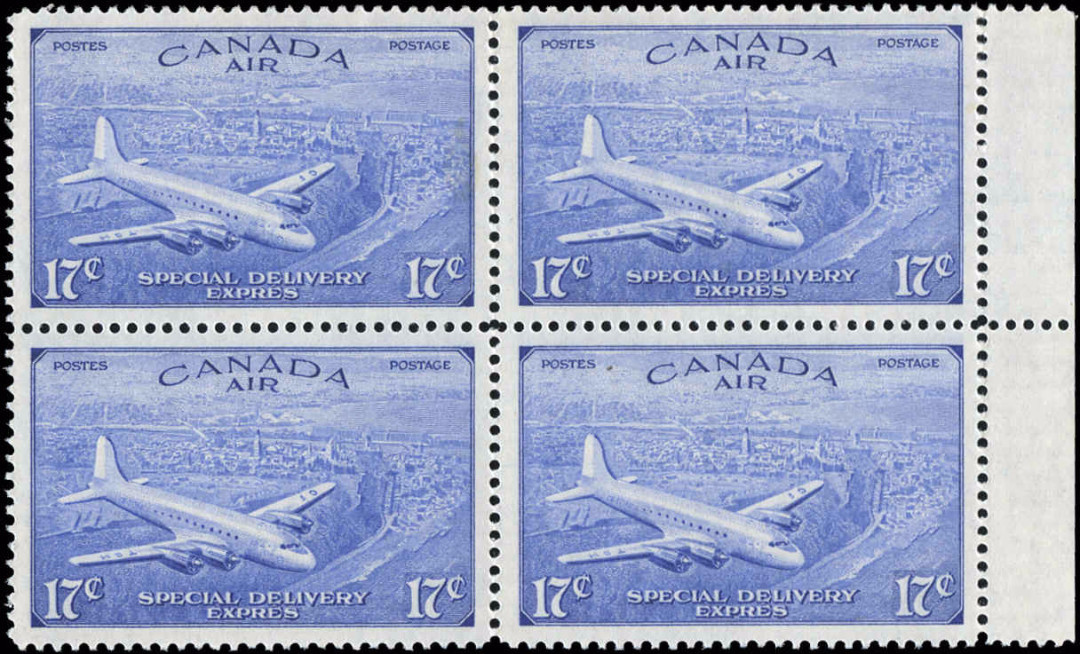 Canada #CE3, Air Mail Special D Issue, VF, MNH