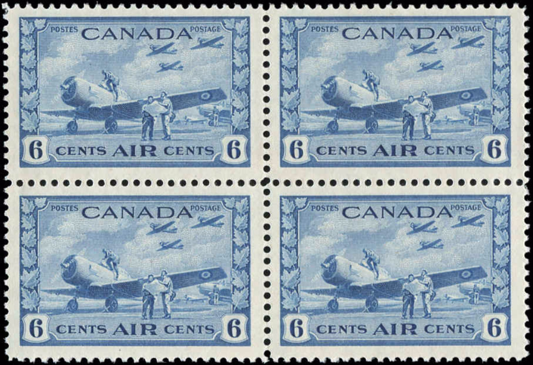 Canada #C7, Airmail Issue, VF, MH