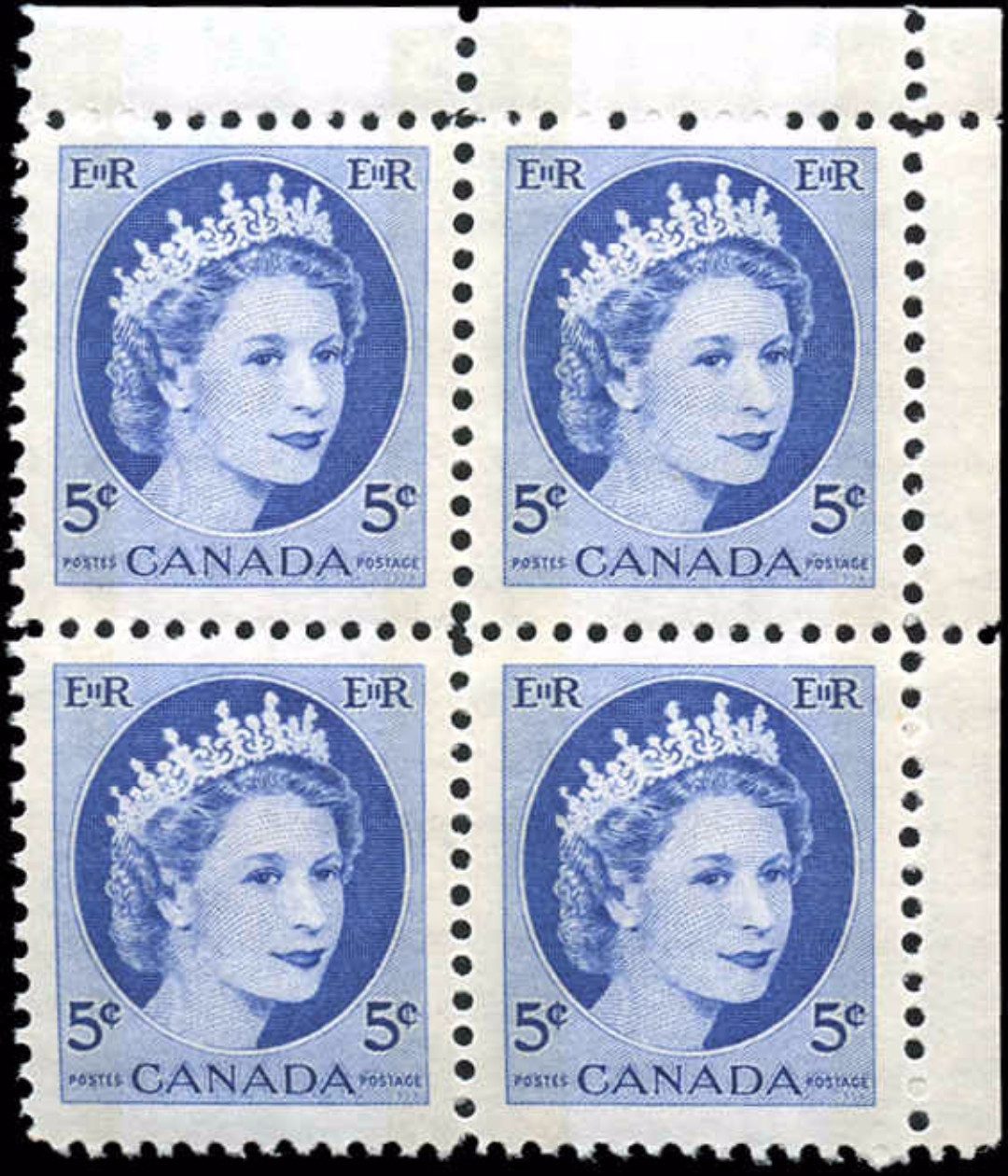 Canada #341p, QEII Issue, F-VF, MNH