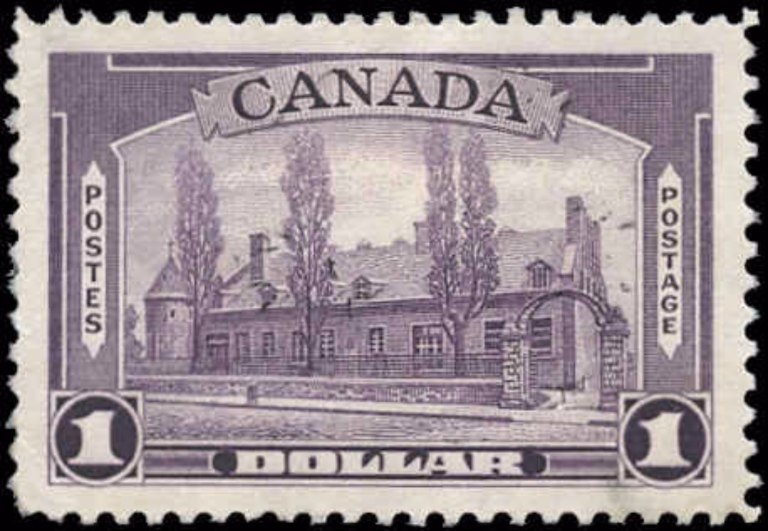 Canada #245, 1938 Pictorial Issue, VF+, Used