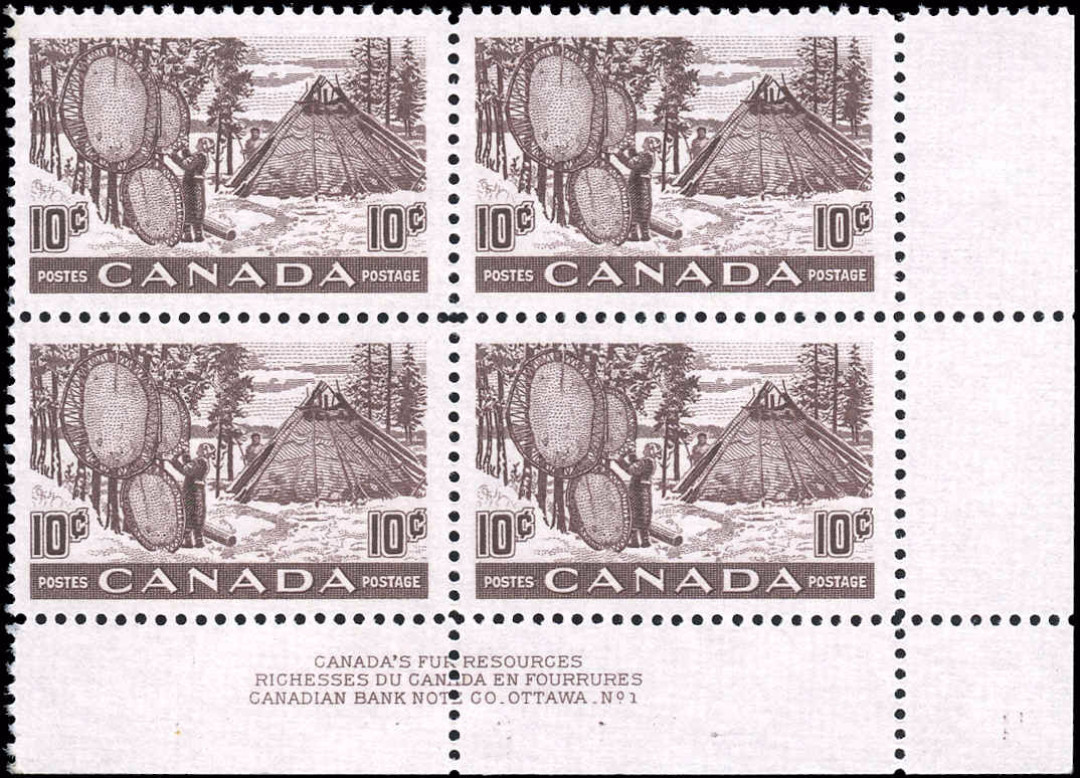 Canada #301, Fur Resources Issue, VF, MNH