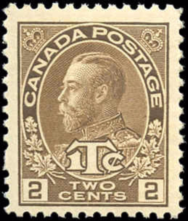 Canada #MR4, War Tax Issue, F-VF, MNH