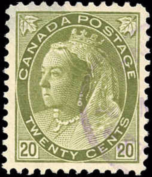 Canada ##84, Numeral Issue, VF, Used