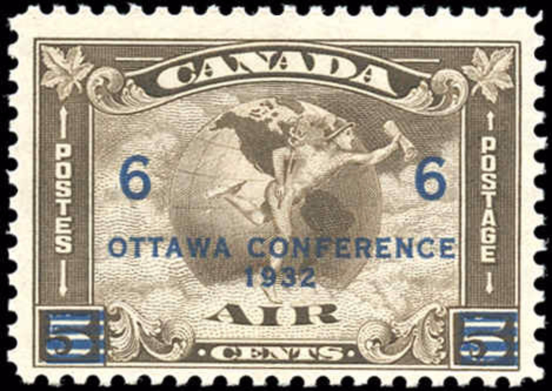 Canada #C4, Airmail Issue, F+, MNH