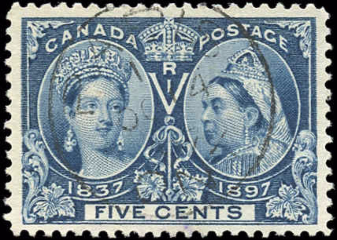 Canada ##54i, Jubilee Issue, VF, Used