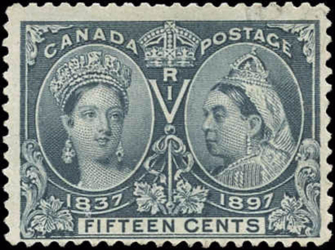 Canada ##58, Jubilee Issue, F+, Used