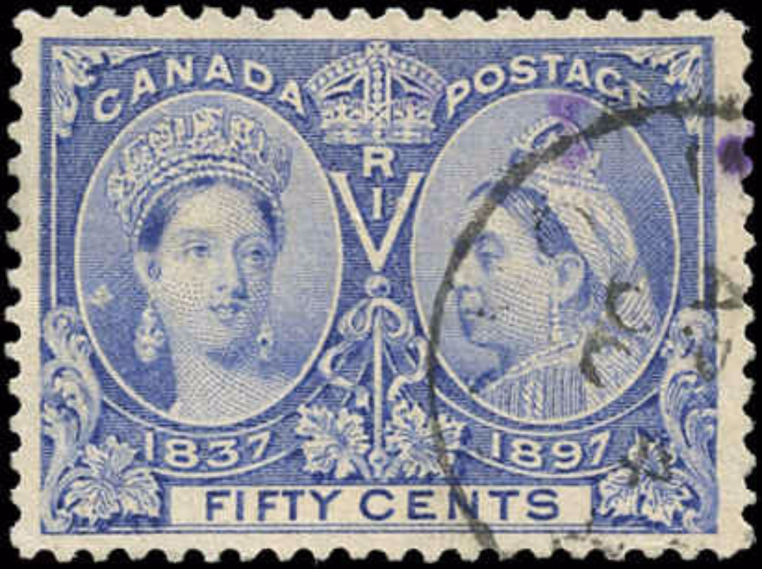Canada ##60, Jubilee Issue, F-VF, Used