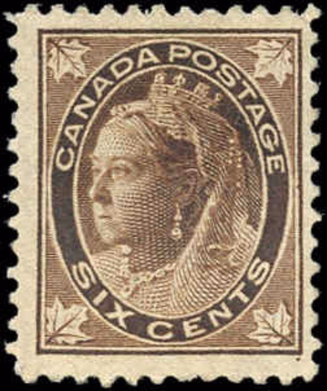 Canada ##71, Maple Leaf Issue, F-VF, Used