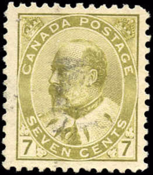 Canada ##92, King Edward VII Issue, F-VF, Used