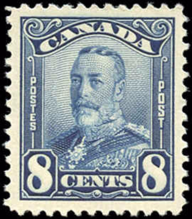 Canada #154, Scroll Issue, VF, MNH
