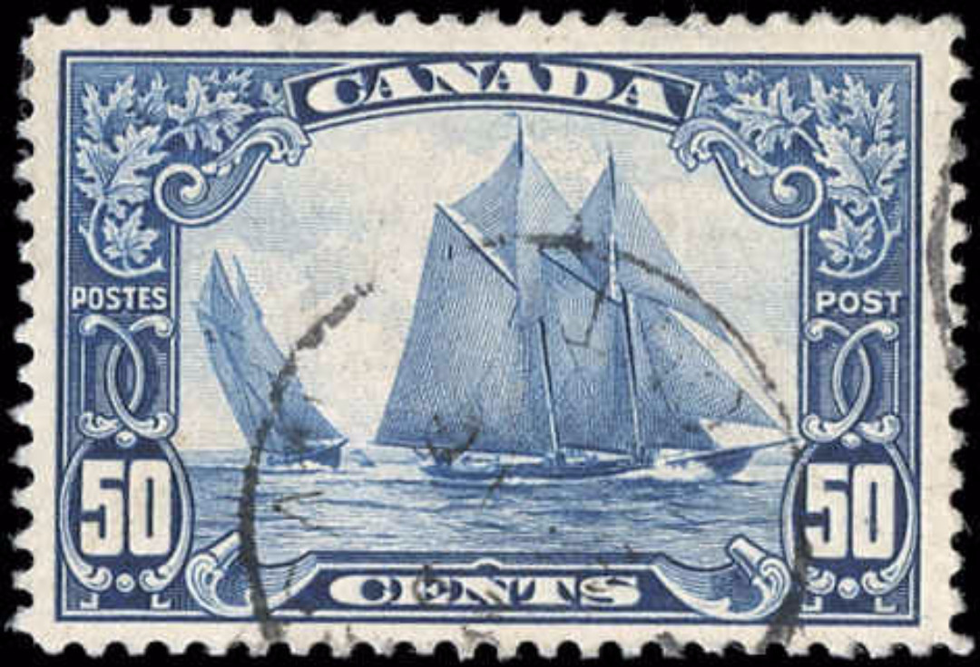 Canada #158, Scroll Issue, F-VF, Used