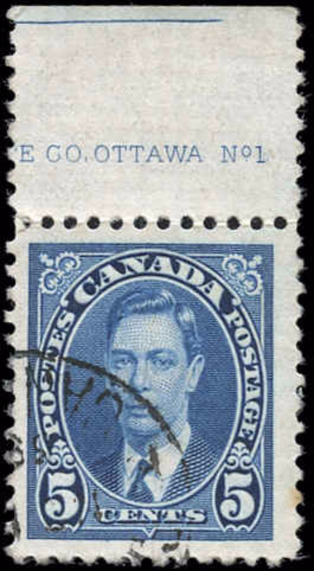 Canada #235, Mufti Issue, F-VF, Used