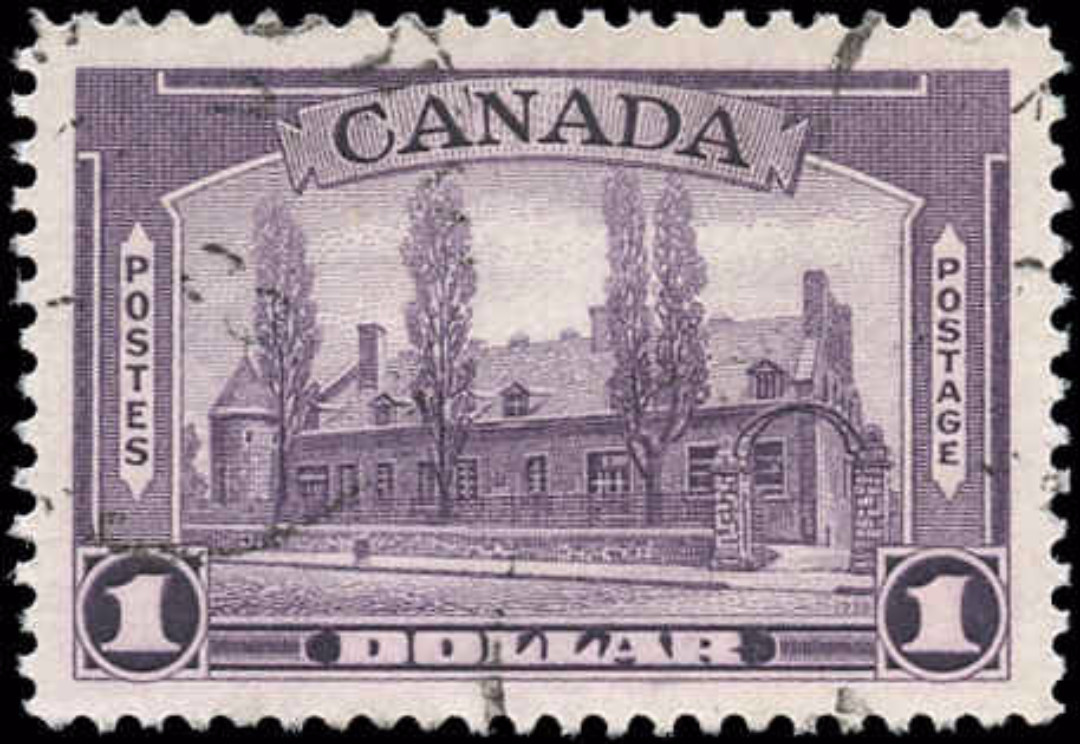 Canada #245, 1938 Pictorial Issue, VF, Used