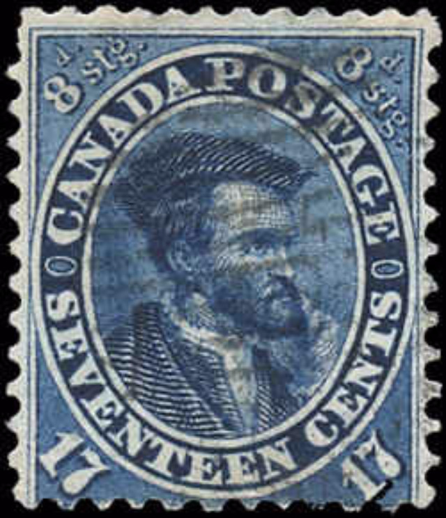 Canada ##19, First Cents Issue, VG-F, Used