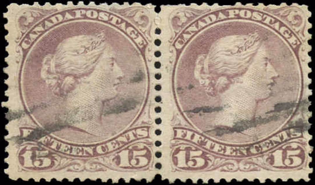 Canada ##29b, Large Queen Issue, F-VF, Used