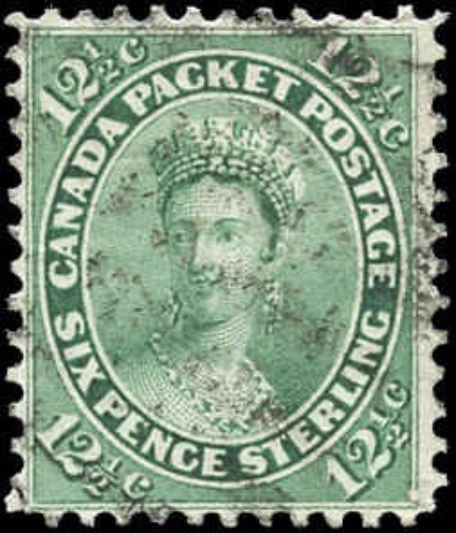 Canada ##18, First Cents Issue, F-VF, Used