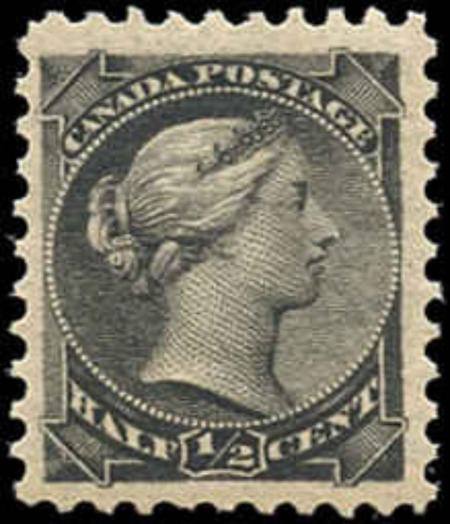 Canada ##34, Small Queen Issue, VF, MNH